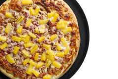 Hawaiische Pizza Lizenzfreie Stockfotos