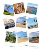 Hawaiische Reisegedächtnisse lizenzfreies stockfoto