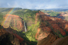 Hawaiische Schlucht Stockfotografie
