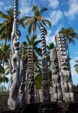 Hawaiische Statue Stockbilder