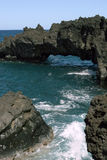 Hawaiische Strand-Felsen-Anordnungen Lizenzfreie Stockfotografie