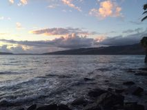 Hawaiische Szene Lizenzfreies Stockfoto