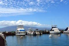 Hawaiisches Dock lizenzfreies stockbild