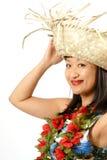 Hawaiisches Mädchen Stockfotos