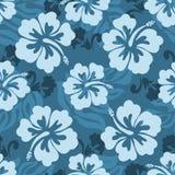 Hawaiisches nahtloses Muster Stockfoto