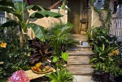 Hawaiisches Portal Stockfotos