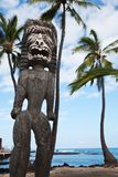 Hawaiisches Tiki Stockfotos