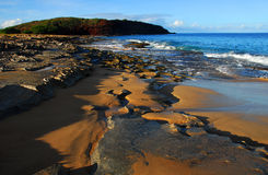 hawajczyka plażowy wschód słońca Obraz Royalty Free