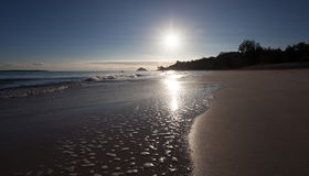 Hawajczyka Plażowy zmierzch Obraz Royalty Free
