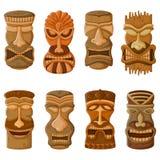 Hawajczyka Tik plemienna maska Obrazy Stock