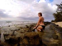 Hawaje dziewczyna Obraz Royalty Free