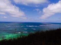 Hawaje Intymna plaża na Kailua wyspie obrazy stock