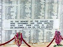 Hawaje US Navy obraz stock