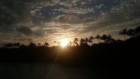 Hawaje wschód słońca Obrazy Royalty Free