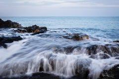 Hawaje wybrzeże 9 Zdjęcia Royalty Free