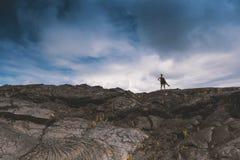 Hawaje wyspy Duży usa, magiczny scenics plaże, zmierzchy, volcanoes, skały, sztuki pięknej fotografia zdjęcie royalty free