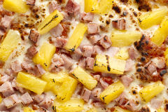 hawajska pizza Zdjęcia Royalty Free