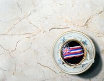 Hawajska ranek kawa obraz stock
