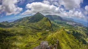 Hawajska wyspa Oahu Zdjęcia Royalty Free