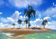 Hawajski raj Fotografia Stock
