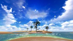 Hawajski raj Zdjęcia Royalty Free