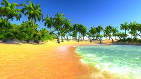 Hawajski raj Zdjęcie Stock