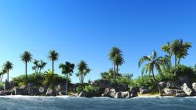 Hawajski raj Obrazy Royalty Free