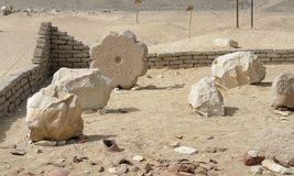 Hawara. Archaeological site in Egypt named Hawara Stock Photography
