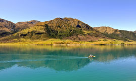 Hawea lake, New Zealand Royalty Free Stock Photo
