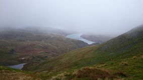 Haweswater Reservoir, English Lake District National Park Royalty Free Stock Photos