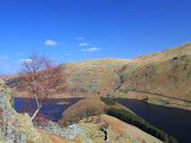Haweswater from the Rigg stock image