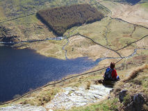 Haweswater vom Rigg Stockfotos