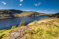 Haweswater from Whiteacre Crag north Stock Image
