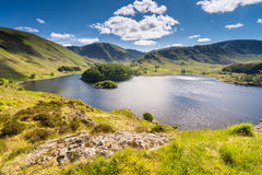 Haweswater from Whiteacre Crag Stock Photography