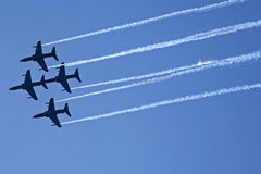 Hawk aeroplane Royalty Free Stock Image