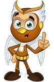 A Hawk Boy - Having An Idea Royalty Free Stock Photos