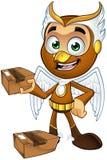 A Hawk Boy - Holding Parcel Royalty Free Stock Photo