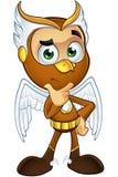 Hawk Boy - pensando royalty illustrazione gratis