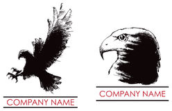 Hawk Eagle Logo Stock Photo