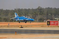 Hawk-i at Aero India 2017 Royalty Free Stock Images