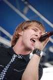 Hawk Nelson performing at The World Pulse Festival Stock Photography