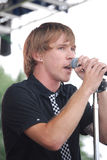 Hawk Nelson performing at The World Pulse Festival Stock Images