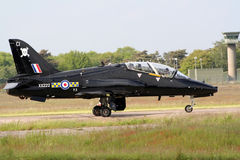 Hawk RAF trainer jet Royalty Free Stock Photos