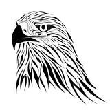Hawk, tattoo Stock Photo