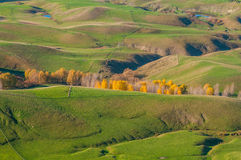 Hawke's Bay in autumn. New Zealand. Landscape in Hawke's Bay, North Island, New Zealand - one of popular tourist destinations Stock Photo
