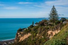 Hawke's Bay. New Zealand. South Waimarama beach in Hawke's Bay, North Island, New Zealand - one of popular tourist destinations Royalty Free Stock Images