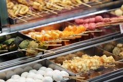 Hawker food at Penang, Malaysia royalty free stock images