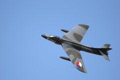 Hawker Hunter F6 - G-KAXF Stock Images