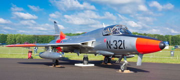 Hawker hunter jet Stock Photo