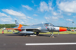 Hawker hunter jet Stock Images